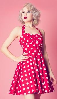 одежда в стиле ретро 50-х годов