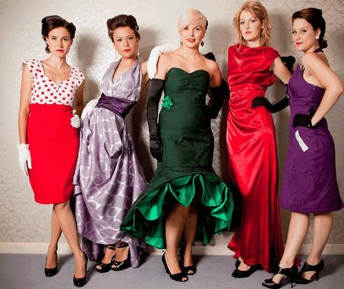 одежда в стиле ретро для женщин
