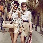 Одежда в стиле ретро. Фото
