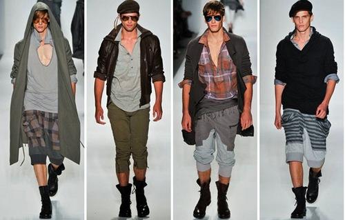 Стиль гранж в одежде мужчин
