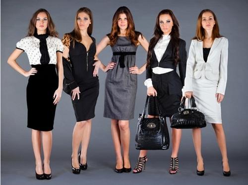 модная офисная одежда для девушек