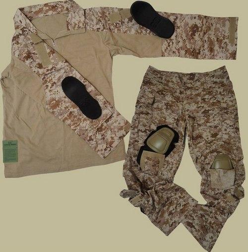 Одежда цвета хаки. Фото №2