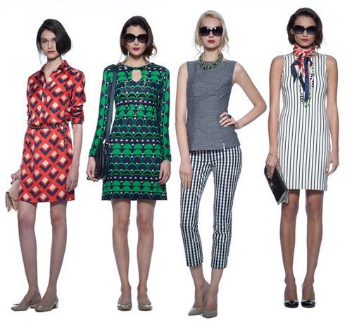 одежда в стиле 60-х