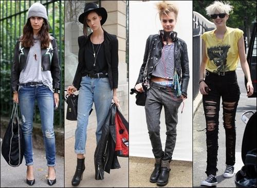 одежда в стиле глэм рок