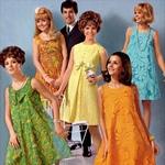 Стиль 60-х в одежде. Фото